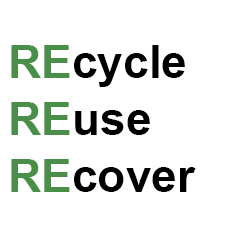 Recycle Reuse Recover