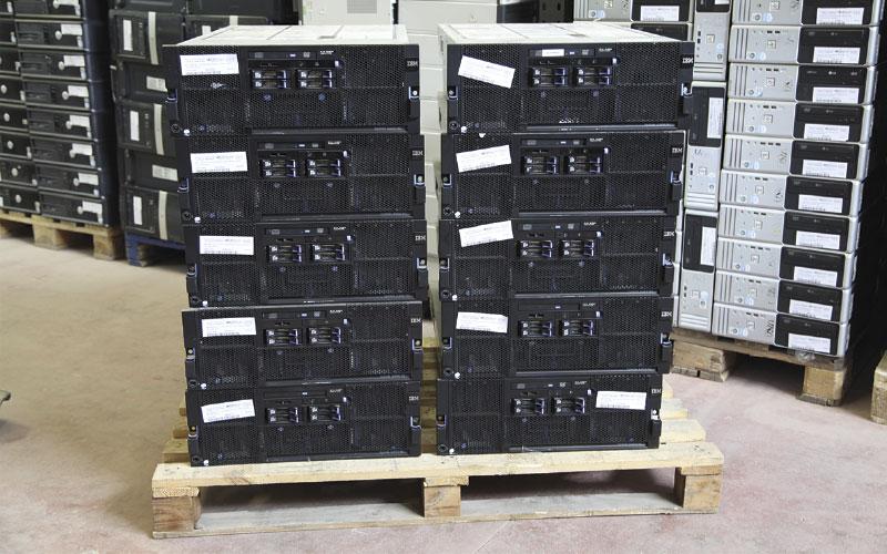 Reciclado de servidores